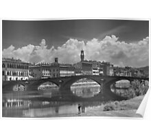 Watching the Arno from the Shore Poster