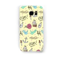 Larry Stylinson Complimentary Tattoo Pattern Samsung Galaxy Case/Skin