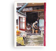 Old Shanghai Canvas Print