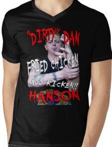Dirty Dan Hanson T-shirt Mens V-Neck T-Shirt