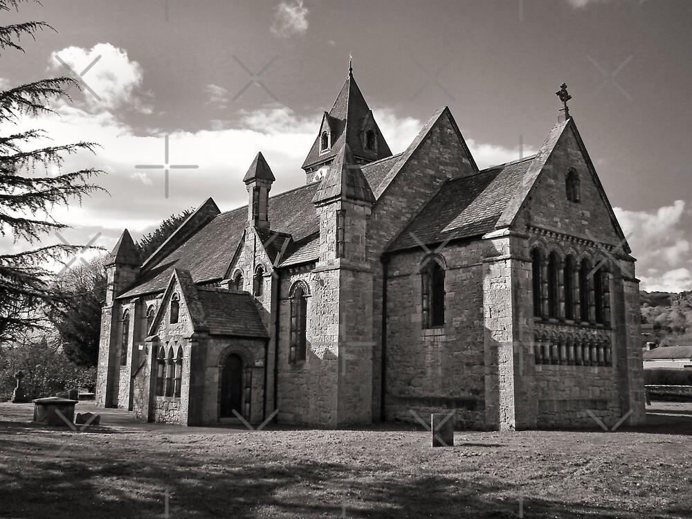 St Agatha Chruch Llanymynech by Yampimon