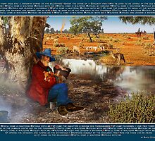 Waltzing Matilda. National Song of Australia. Words by Banjo Paterson by Penny Alexander