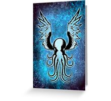 Light Octopus Greeting Card