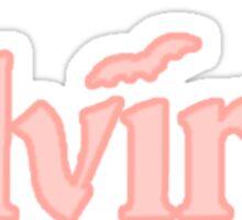 The Elvira Show Sticker