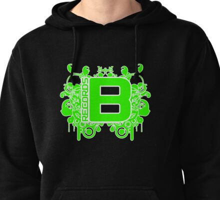 Be Green Records 11 April 2011 Pullover Hoodie