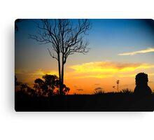 Hinterland Sunsets Canvas Print
