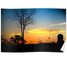 Hinterland Sunsets Poster