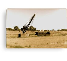 Marooned in Time and Space Canvas Print
