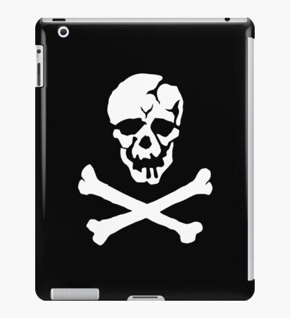 Skull Squadron (white skull) iPad Case/Skin