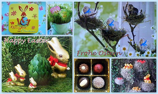 Happy Easter ~ Frohe Ostern by ©The Creative  Minds