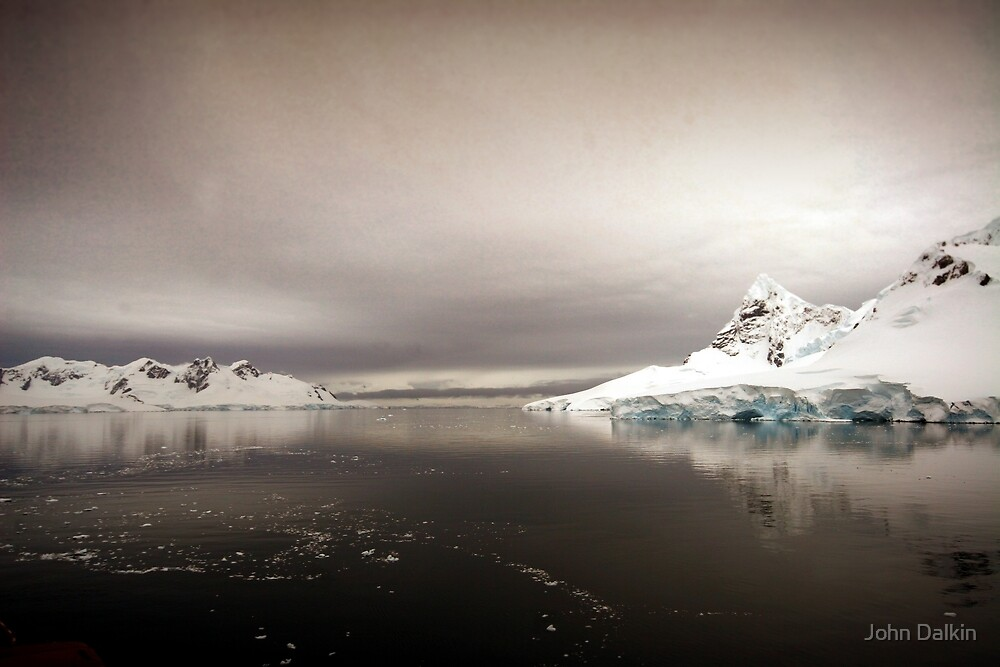 Antarctic Dawn by John Dalkin