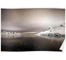 Antarctic Dawn Poster