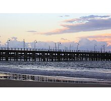Coffs Harbour Jetty at Sunset Photographic Print