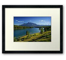 Two Jack Lake, Banff, Canada Framed Print