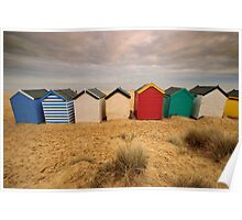 Beach Huts - last one - promise! Poster
