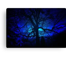 ~blue moon~ Canvas Print