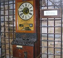 old time clock by sharon wingard
