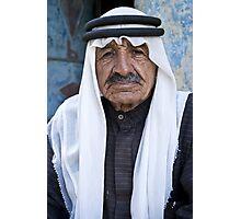 Old friend at Dana Village, Jordan Photographic Print