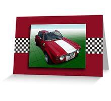 Alfa Romeo GTA 1965 Greeting Card