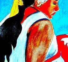 La Femme  de Tahiti by Rusty  Gladdish