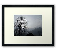 Emei Shan, Sichuan, China Framed Print