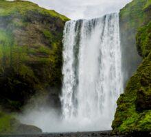 Skogafoss Waterfall Iceland Sticker