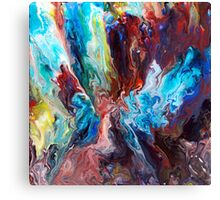 Abstract Fluid Painting 46 Canvas Print