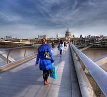 Blue Coat by Mike Matthews