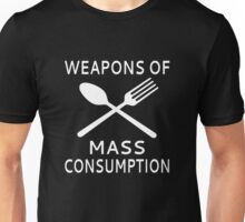 Weapons Of Mass Consumption Unisex T-Shirt