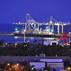 Townsville Port by Geoff Beck