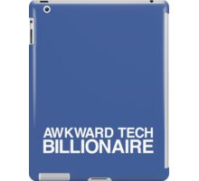 Awkward Tech Billionaire iPad Case/Skin