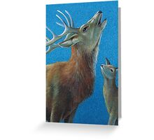The call of the wild Greeting Card