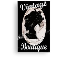 VINTAGE BOUTIQUE Canvas Print