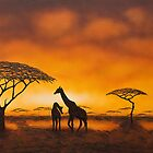 Golden Savannah by Shirley Shelton