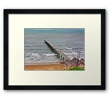 Saltburn Pier Framed Print