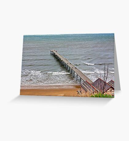 Saltburn Pier Greeting Card