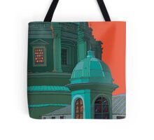 St Peters red and green Tote Bag