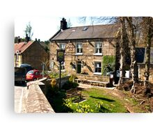 The Board Inn   -  Lealholm Canvas Print