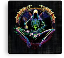 Candy-Coated Grim Reaper Canvas Print