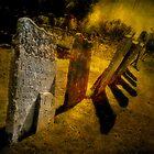 Gravestones & Shadows by Shirley Shelton