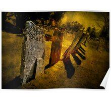 Gravestones & Shadows Poster