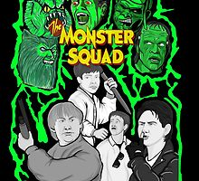 the Monster Squad by gjnilespop