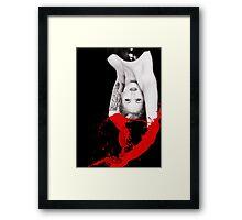 RED MISTRESS Framed Print