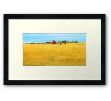 STORYBOOK FARM Framed Print