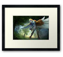Owl's freedom Framed Print