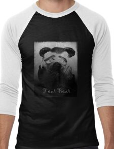 Fear Bear Tee Men's Baseball ¾ T-Shirt