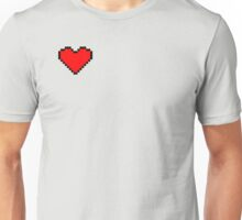 8 bit heart design Unisex T-Shirt