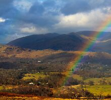Rainbow and a Lakeland vista by Shaun Whiteman