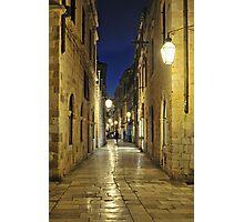 Dubrovnik Street Photographic Print