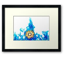 SnowFire (SnowStorm) Framed Print